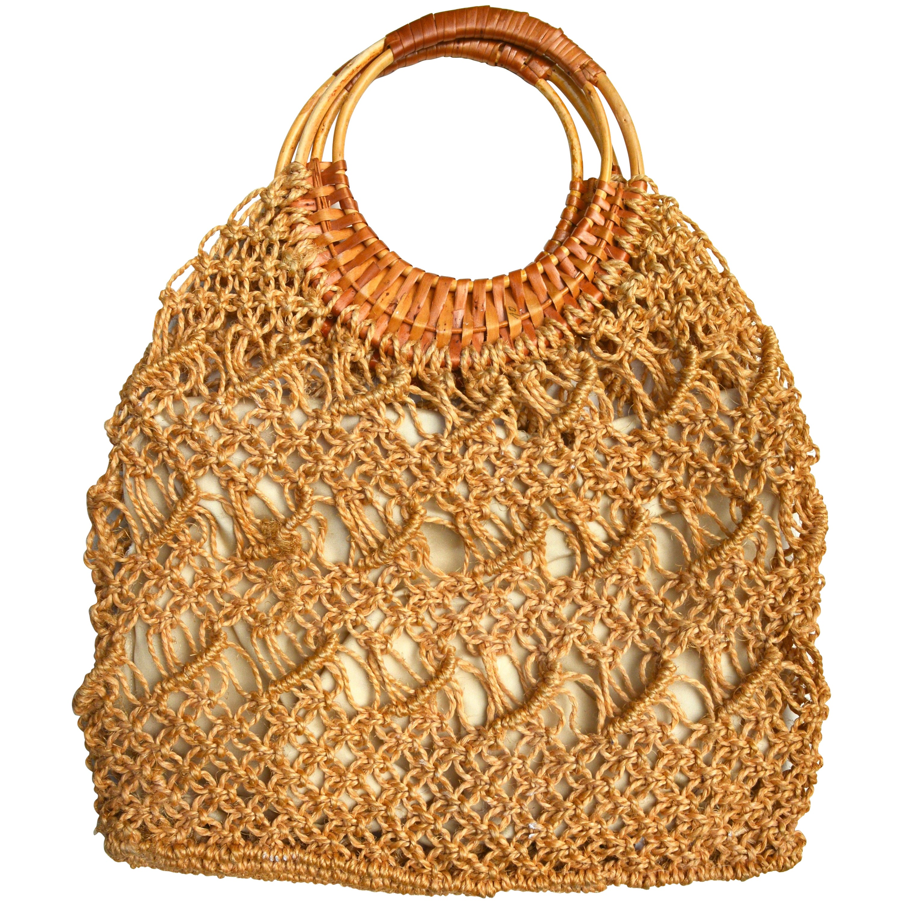 1stdibs Chalk Beaded Raffia Bag 1soNt