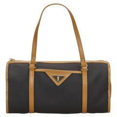 YSL Black PVC Handbag