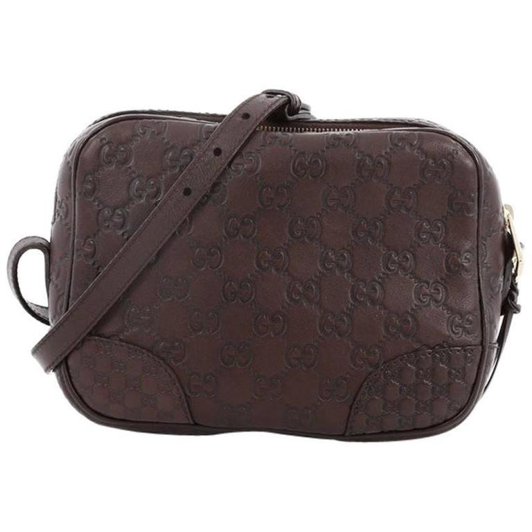 6e894aa96992 Gucci Bree Disco Crossbody Bag Guccissima Leather Mini at 1stdibs