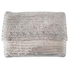 TIFFANY&Co Bag / Clutch Elsa Peretti Woven Sterling Silver