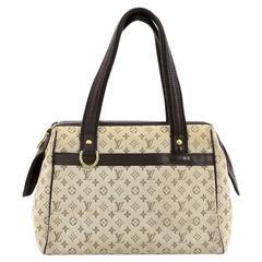 Louis Vuitton Josephine Handbag Mini Lin PM