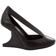 Y-3 by Yohji Yamamoto 2007 Collection Curved Wedge Heels