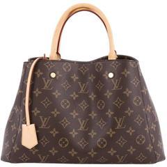 Louis Vuitton Montaigne Handbag Monogram Canvas MM