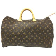 Louis Vuitton Speedy 40 Brown Monogram Handbag