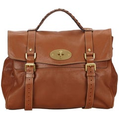Mulberry Brown Leather Alexa Shoulder Bag