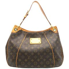 Louis Vuitton Galliera PM Brown Monogram Canvas Shoulder Bag