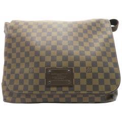 Louis Vuitton Brooklyn GM Brown Damier Ebene Canvas Shoulder Bag