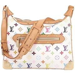 Louis Vuitton Boulogne Handbag Monogram Multicolor