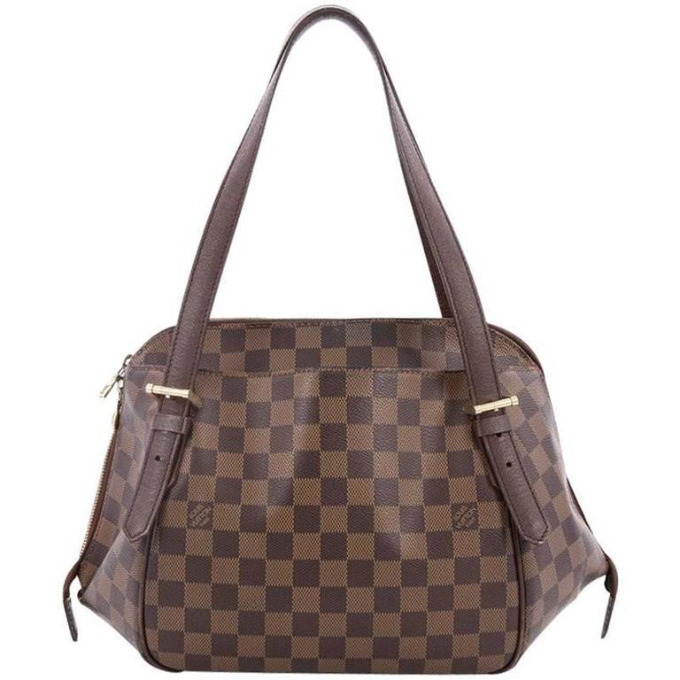 Louis Vuitton Belem Handbag Damier Mm At 1stdibs