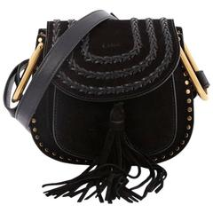 Chloe Hudson Handbag Whipstitch Suede Mini