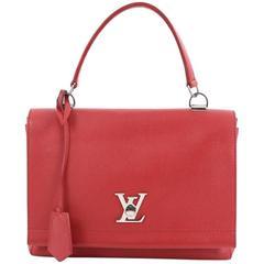 Louis Vuitton Lockme II Bag Leather