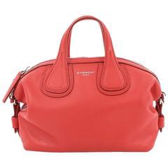 Givenchy Nightingale Satchel Waxed Leather Mini