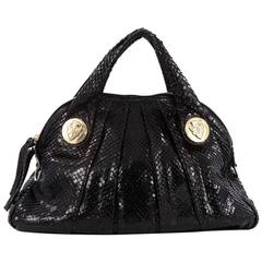 Gucci Hysteria Dome Satchel Snakeskin Large
