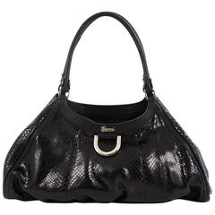 Gucci D Ring Hobo Python Large