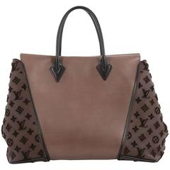 Louis Vuitton W Tote Cuir Orfevre and Veau Cachemire GM