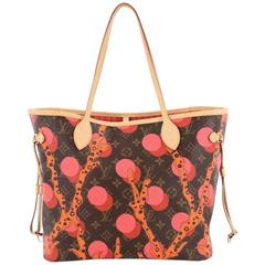 Louis Vuitton Neverfull NM Tote Limited Edition Monogram Canvas Ramages M