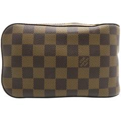 Louis Vuitton Geronimos Brown Damier Canvas Shoulder Bag
