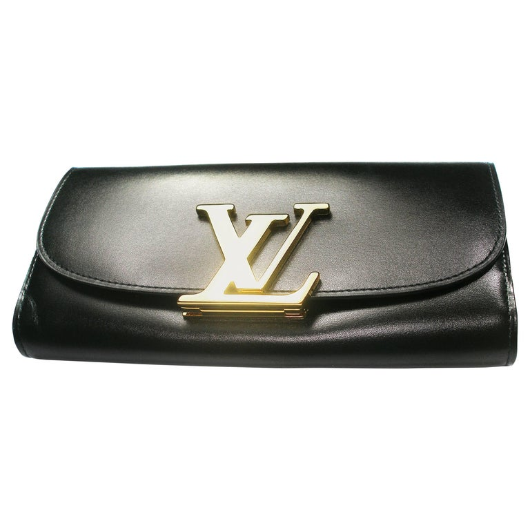 LOUIS VUITTON Box Calfskin Vivienne Duo LV Long Wallet ...