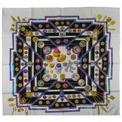 Hermès Les Petites Mains scarf silk twill 90 cm / BRAND NEW