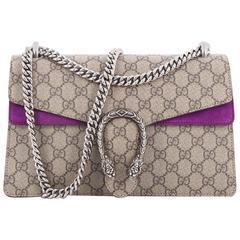 Gucci Dionysus Handbag GG Coated Canvas Small