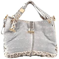 Jimmy Choo Alex Hobo Python Medium