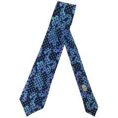 Exceptional Emilio Pucci  Psychedelic Vintage Neck Tie