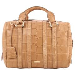 Burberry Nevinson Bowling Bag Alligator Medium