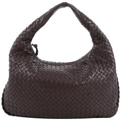 Bottega Veneta Veneta Hobo Intrecciato Nappa Medium
