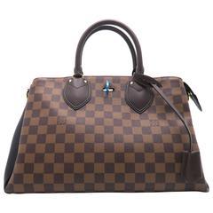 Louis Vuitton Normandy Brown Damier Satchel Bag N41487 LV