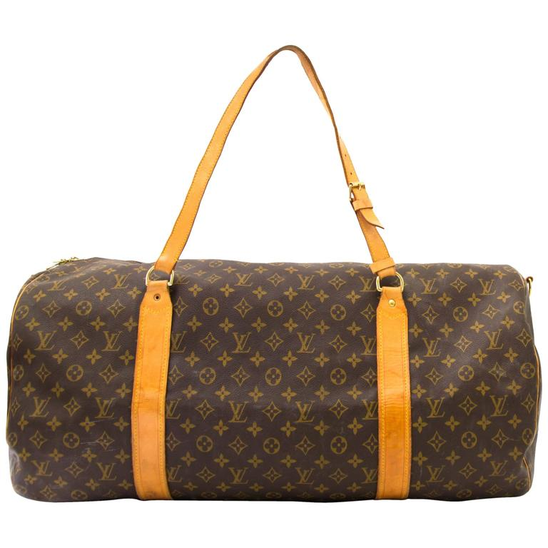Louis Vuitton Monogram Polochon Travel Bag 1