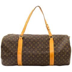 Louis Vuitton Monogram Polochon Travel Bag