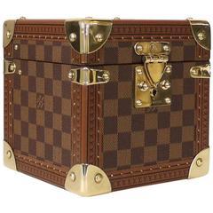 Rare Louis Vuitton Damier Canvas Coffret Merveilles GM Jewelry Case