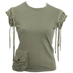 Christian Dior Army Green T-Shirt