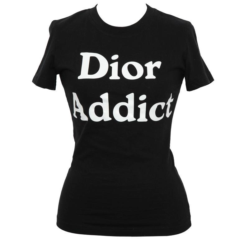"John Galliano for Christian Dior ""Dior Addict"" Tank Top T-Shirt"