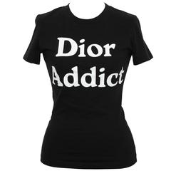 "John Galliano for Christian Dior ""Dior Addict"" Tank Top T-Shirt"