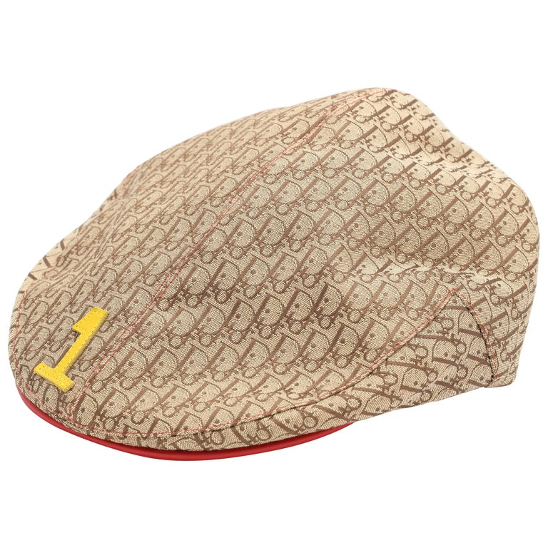 bc3b8e16ef0f81 John Galliano for Christian Dior Rasta Logo Hat