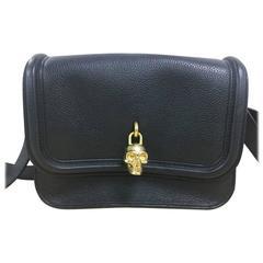 Alexander McQueen Padlock Crossbody Bag Leather