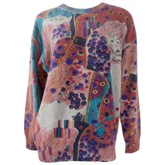 Kriza Maglia Gustav Klimt Sweater