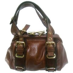 Marc Jacobs Italian Brown Leather Diminutive Handbag