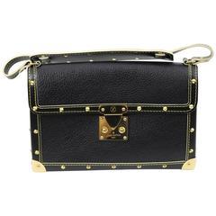 Louis Vuitton Suhali Le Fabuleux (Style Mini trunk) Grained Leather Bag