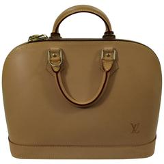Colelctible  Louis Vuitton Alma All natural Leather Bag