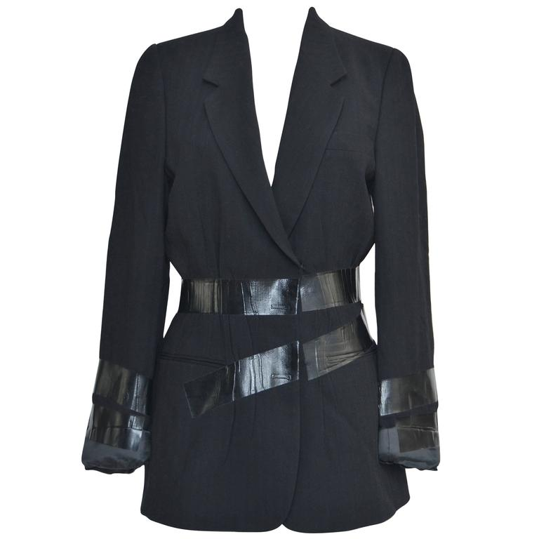 Maison Martin Margiela Artisanal Fall '09 Duct Tape Jacket  40    Mint For Sale