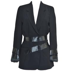 Maison Martin Margiela Artisanal Fall '09 Duct Tape Jacket  40    Mint