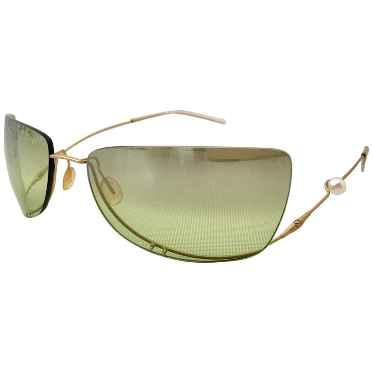 089d604a02f Chanel Freshwater Pearl Rimless and Mirrored