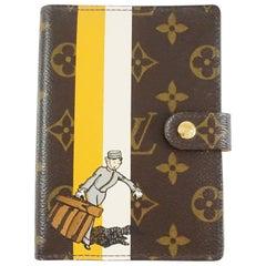 Louis Vuitton Brown Monogram Bellboy Agenda – 2006
