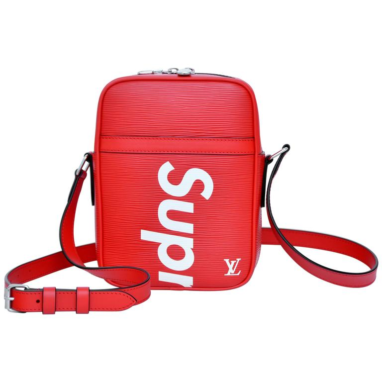 Supreme Louis Vuitton Red Shoulder Bag Danube Rare Pop Up Exclusive New For