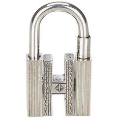 Hermes Silver Cadena Key Holder