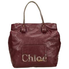 Chloe Red Leather Eclipse