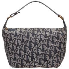 Dior Blue Diorissimo Jacquard Handbag
