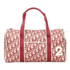 Dior Red PVC Diorissimo Handbag